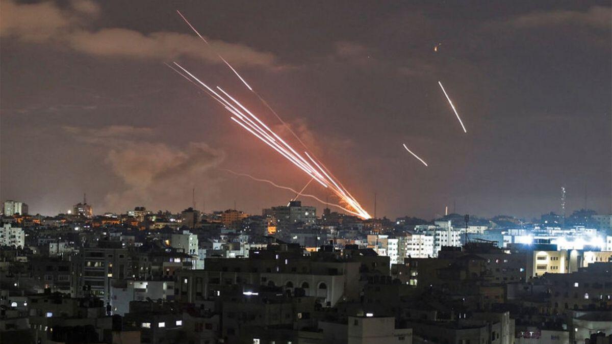 Hamas volvió a lanzar múltiples misiles hacia territorio israelí.