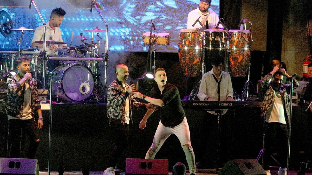 La Konga en vivo en Opus Costanera.