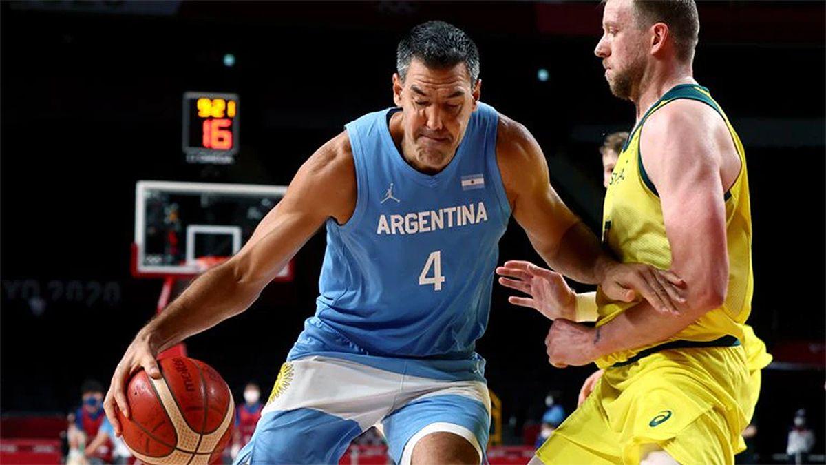 El seleccionado argentino de básquetbol cayó hoy con Australia por 97 a 59 en Saitama.
