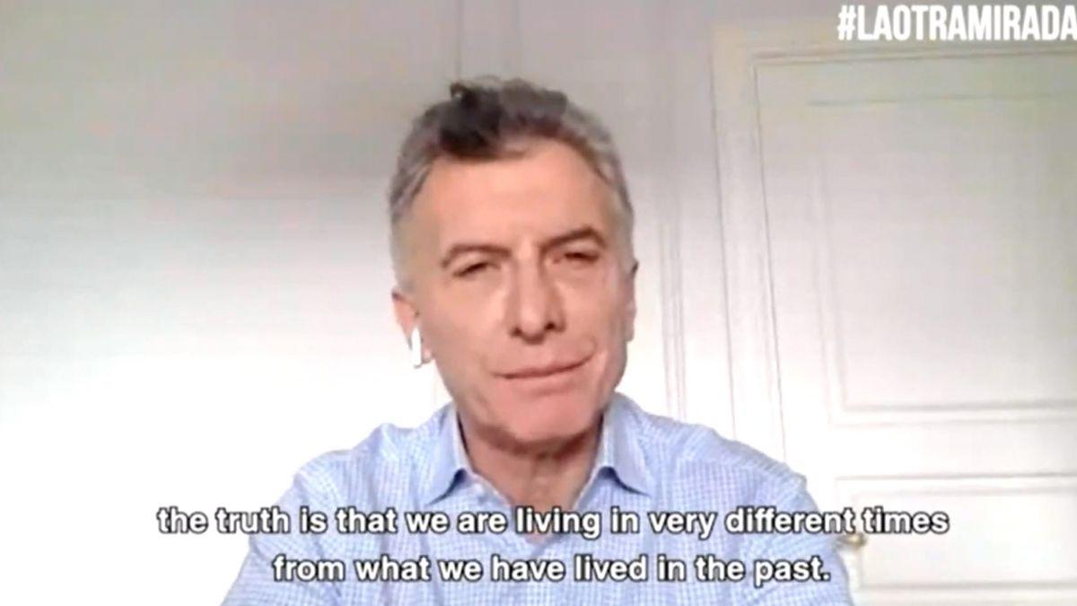 El ex presidente Mauricio Macri reapareció en una entrevista.
