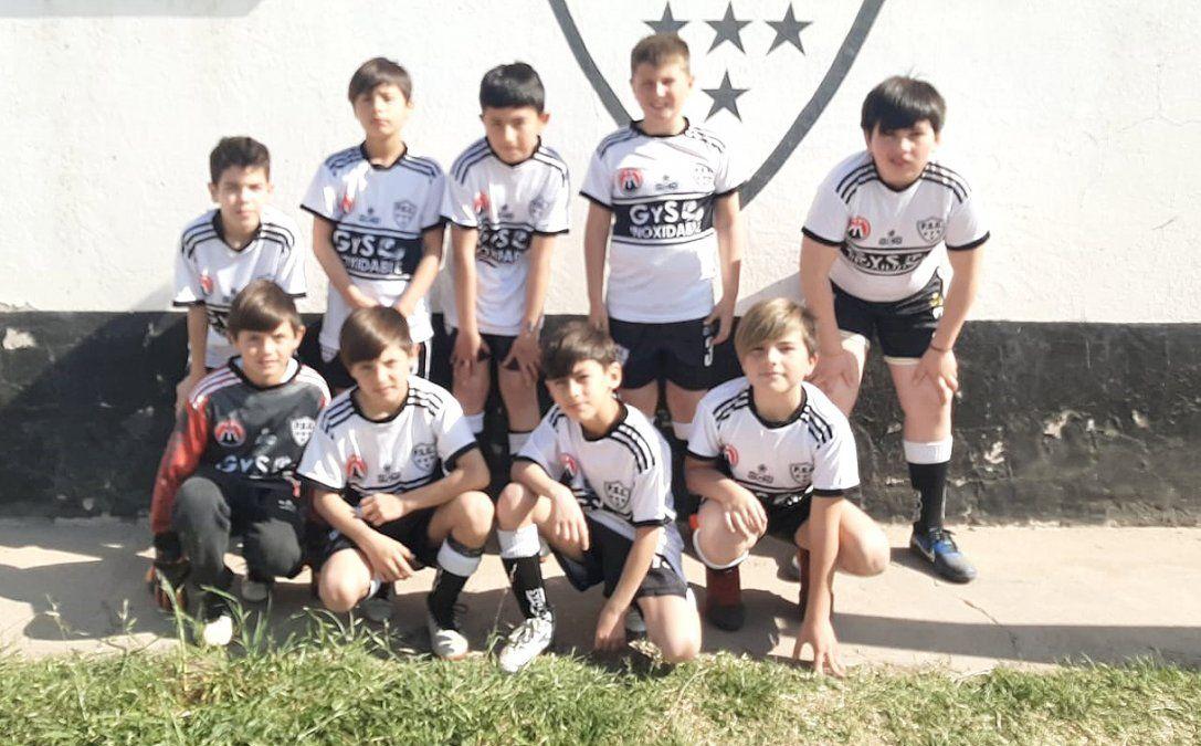 La categoría 2011 de Sportivo Playosa.