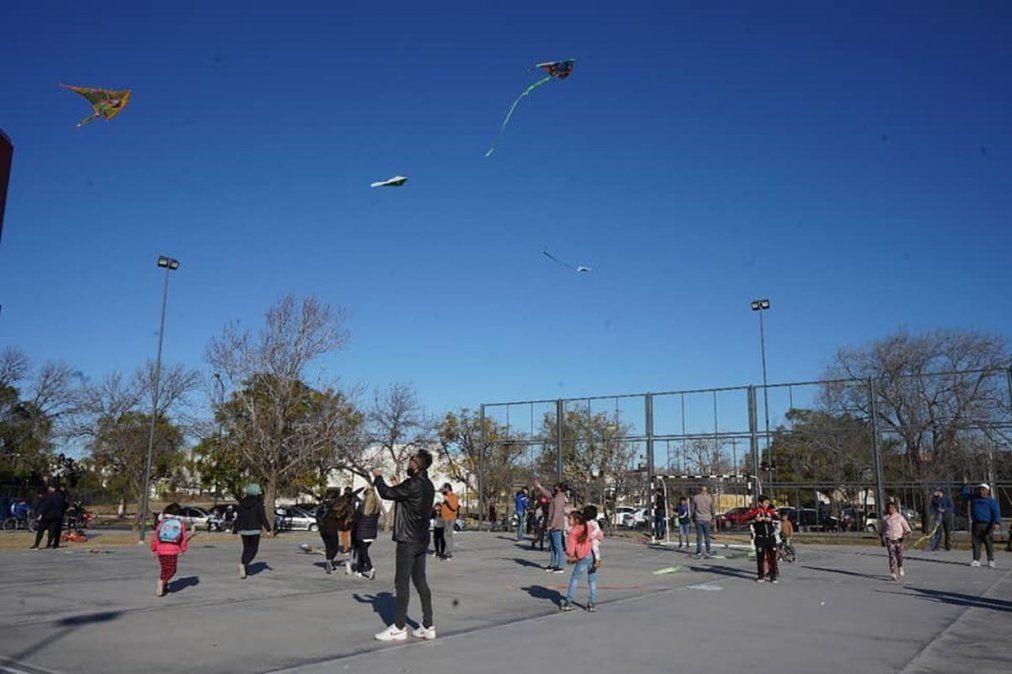 Más de 1.000 niños de la ciudad participaron de actividades recreativas