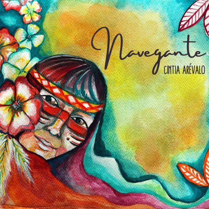 Cintia Arévalo editó Navegante.