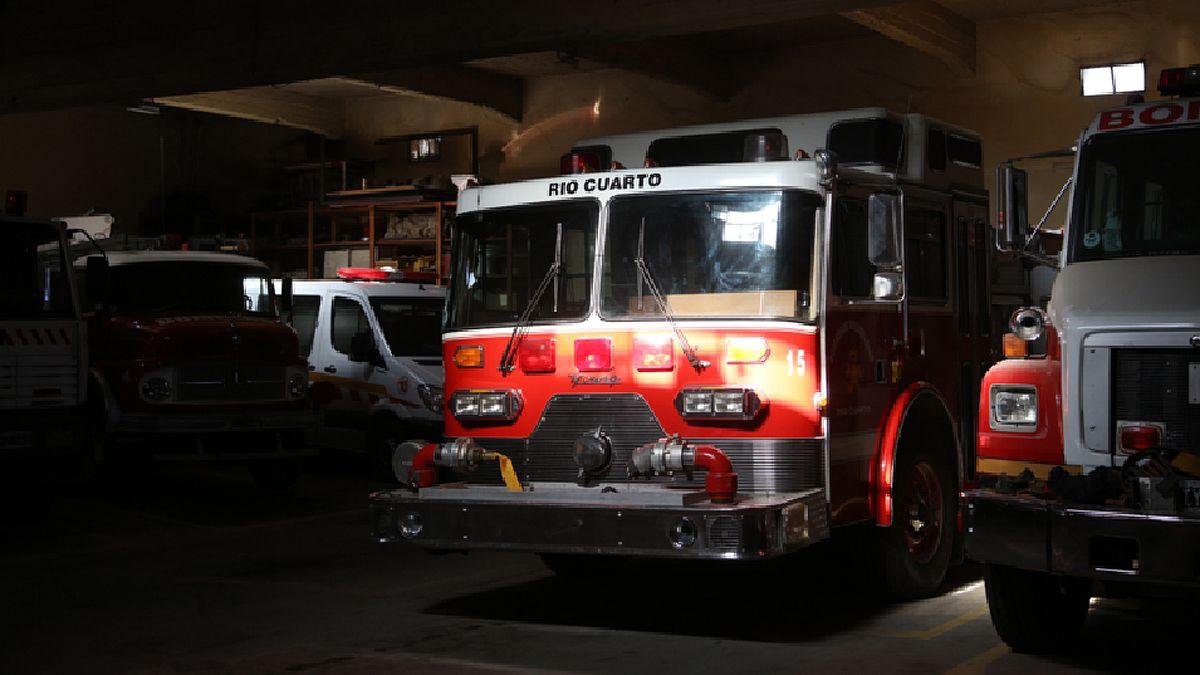 Personal de Bomberos realizó el rescate en Banda Norte.