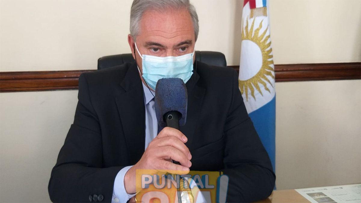 El secretario de Salud municipal