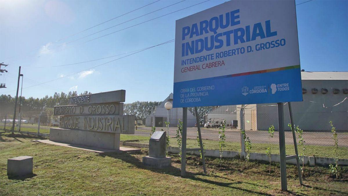 La Provincia habilitó el Parque Industrial de General Cabrera