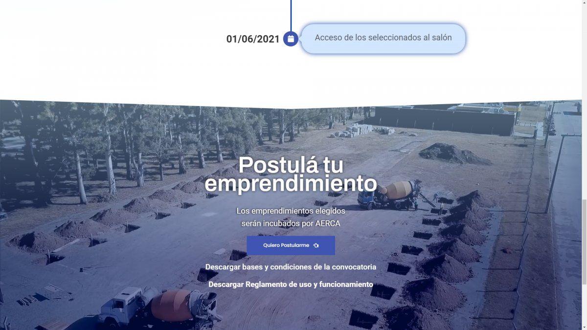 Convocatoria del Parque Industrial, Logístico y Tecnológico de Villa María