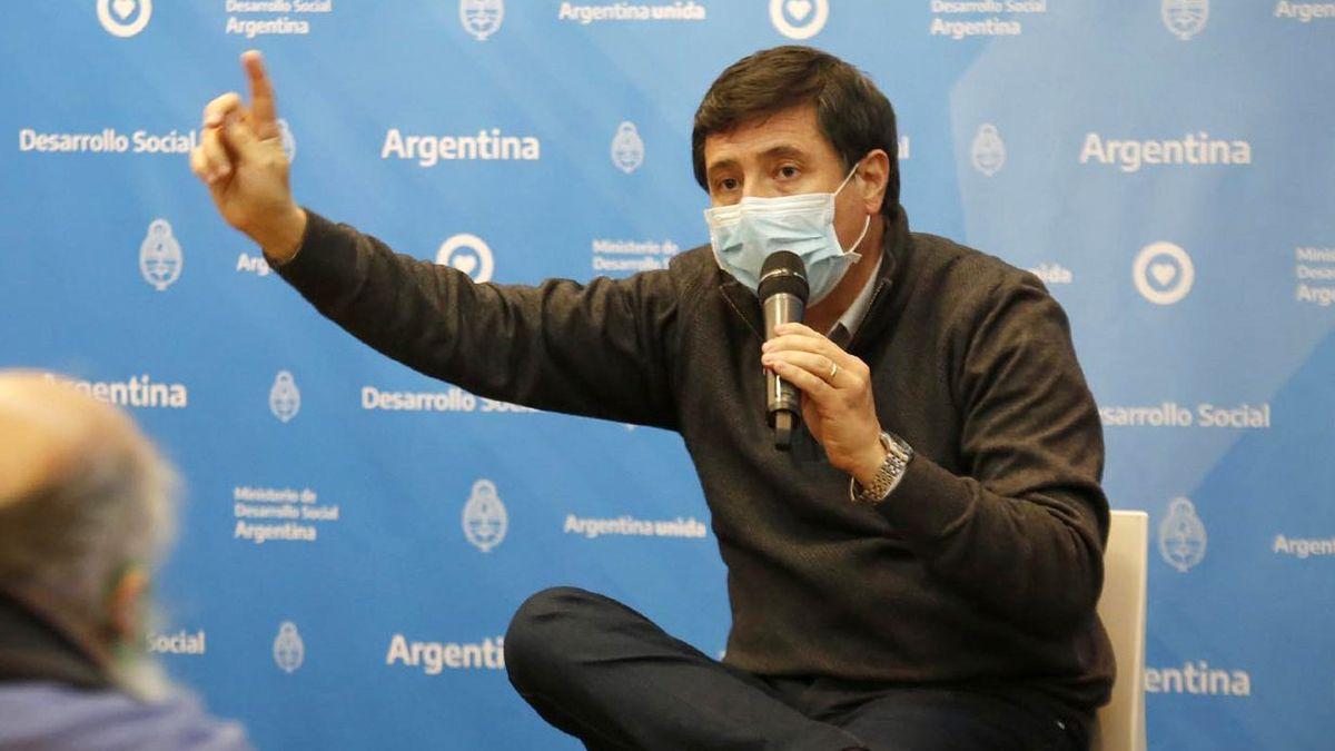 Dio negativo el hisopado a Daniel Arroyo por posible coronavirus