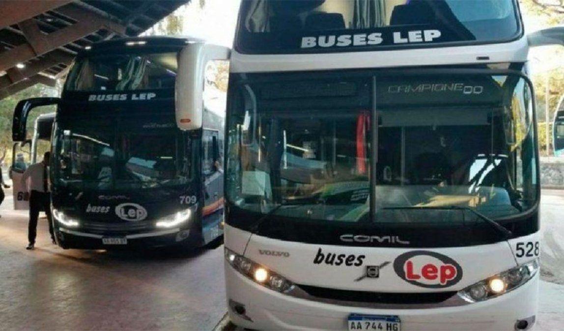 El transporte interurbano será gratuito el 12 de septiembre.