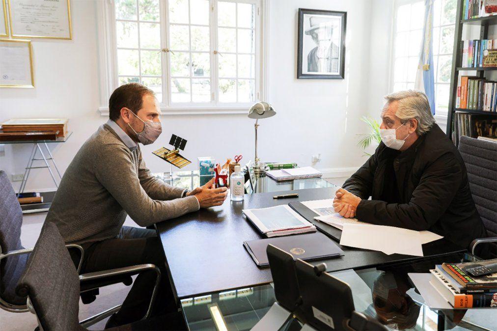 Tras el exhorto de Fernández, Gill puso a disposición su cargo en Obras Públicas