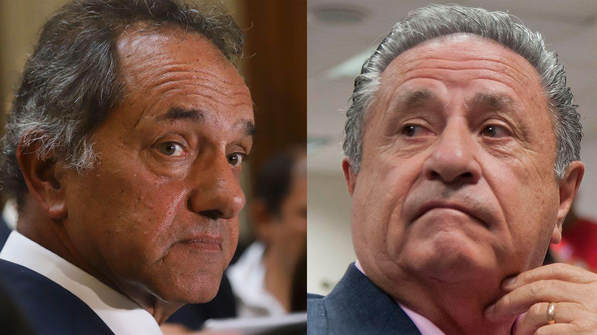 Daniel Scioli y Eduardo Duhalde