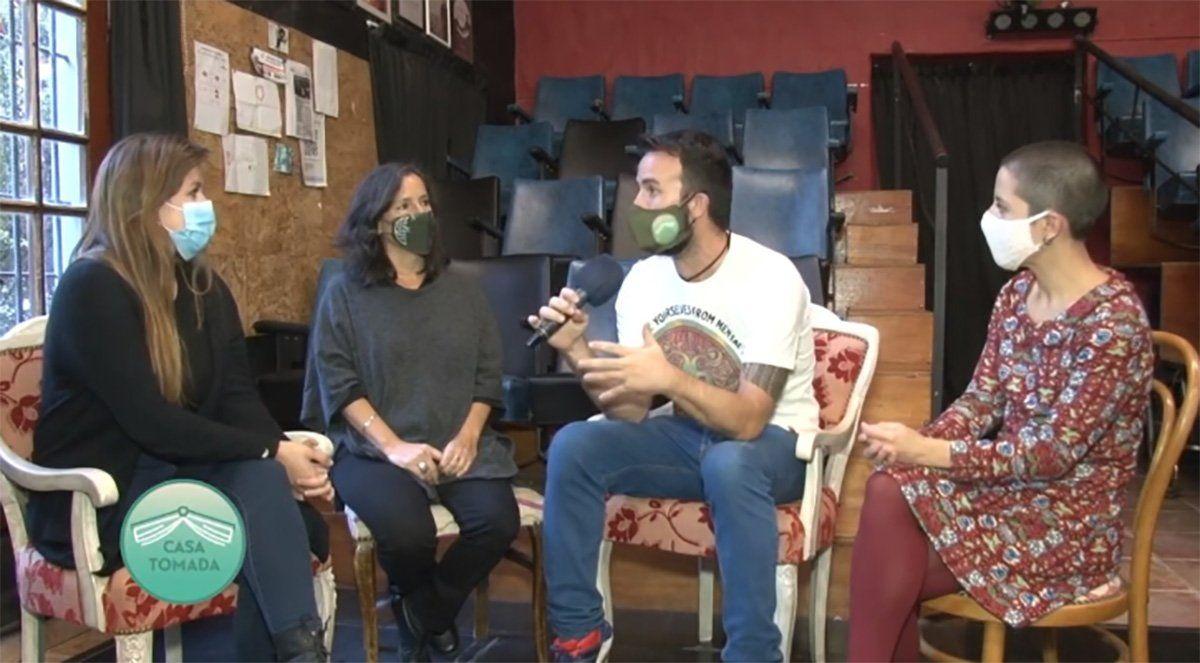 El Mascaviento Teatro en Casa Tomada.