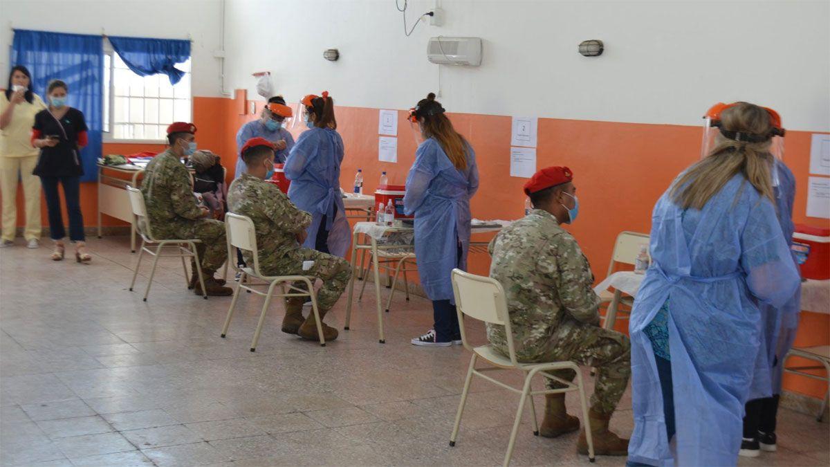 Realizan el primer simulacro de funcionamiento de un centro de vacunación Covid-19 en Córdoba