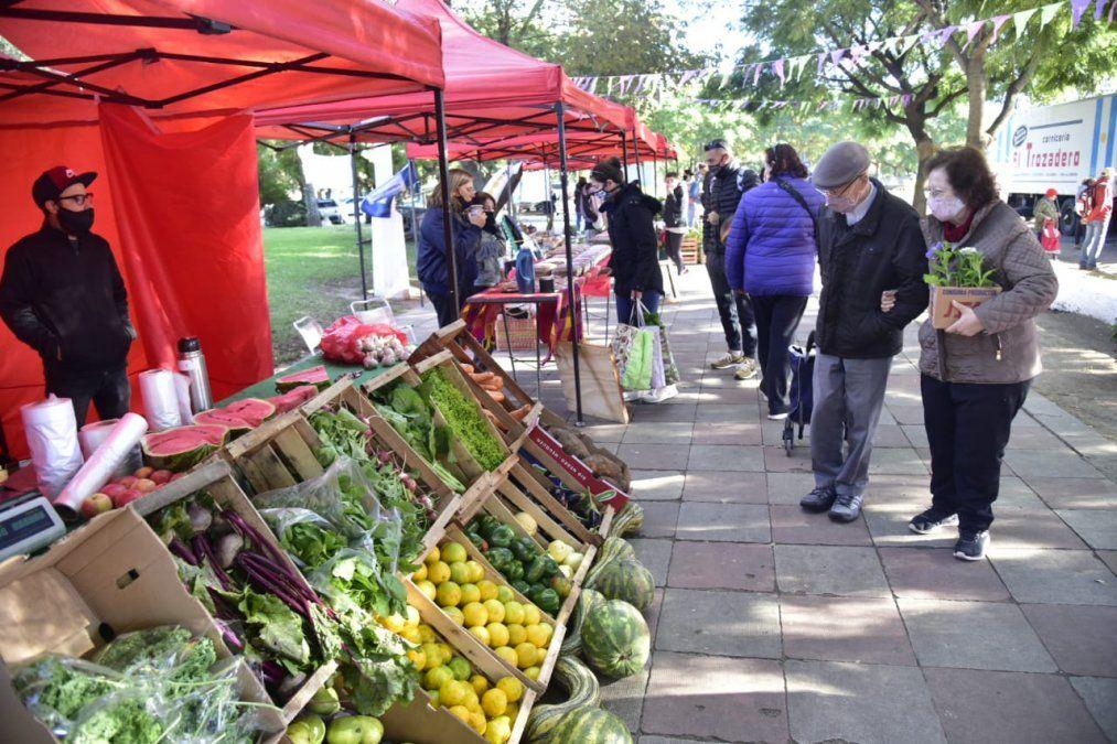 Se desarrolla la Feria Franca con importantes ofertas