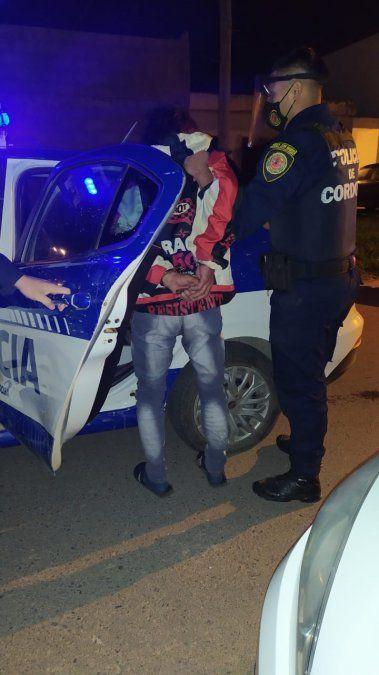Cayó detenido en barrio Belgrano con 3 kilos de marihuana