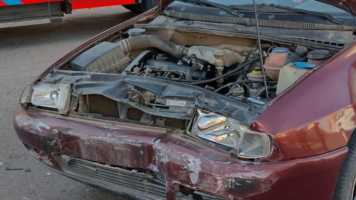Un VW Polo fue el segundo vehículo involucrado en el accidente.