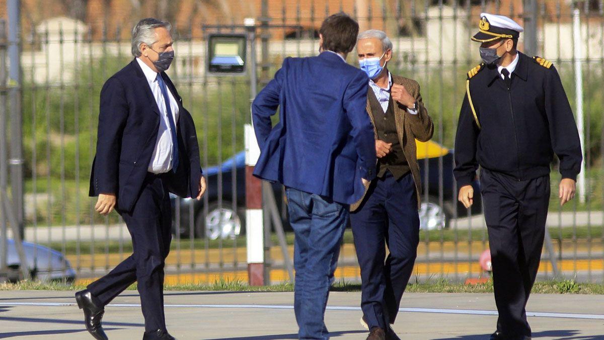 Alberto Fernández permanece en Casa Rosada tras las renuncias de un grupo de funcionarios.