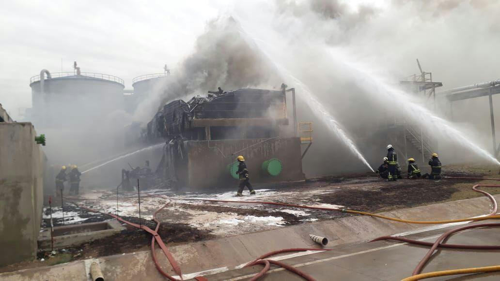 Incendio en AcaBio