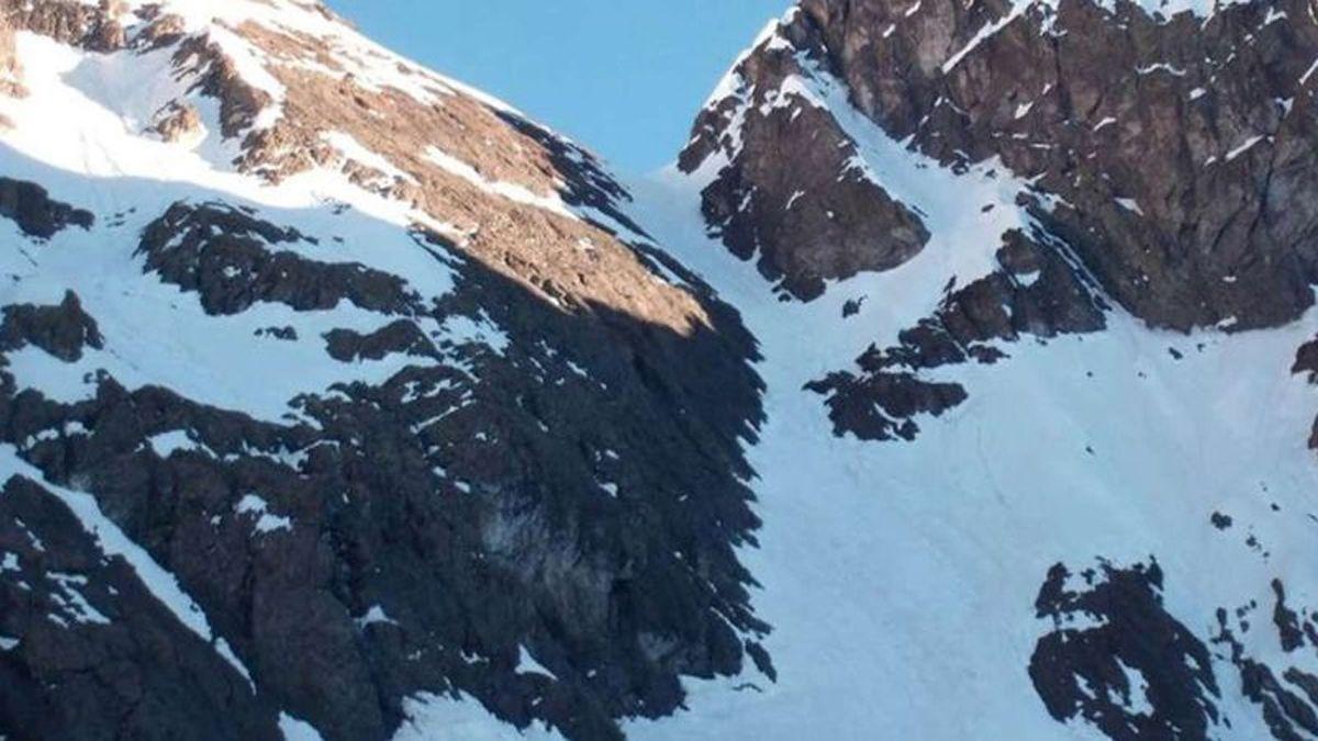 Los montañistas entraron en emergencia cuando escalaban el Cerro Rincón.