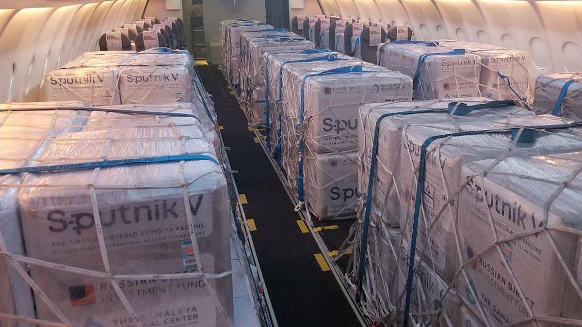 Gustavo Cometto es integrante del equipo de tripulación del Airbus 330 que desde comienzos de pandemia realizan viajes para traer insumos médicos