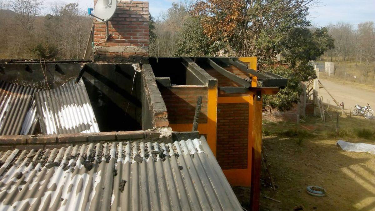 Las viviendas eran propiedad de turistas y los daños sufridos en algunos de los casos fueron totales.