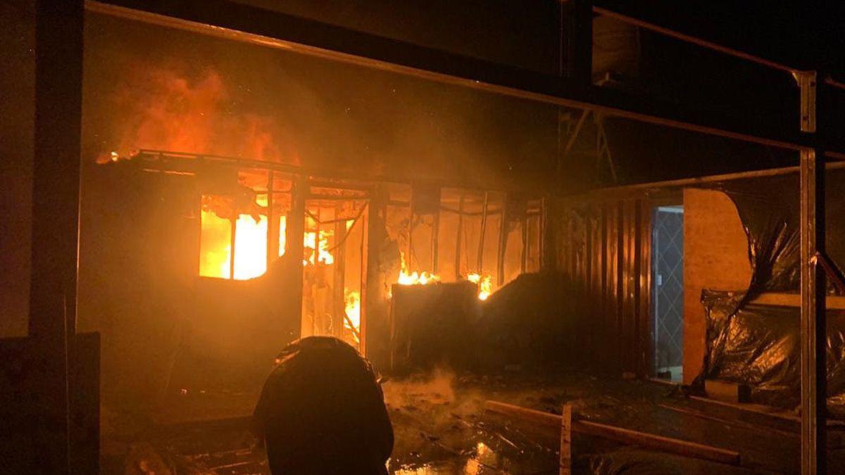 Ardió la casa de veraneo del actor Diego Reinhold en Segunda Usina