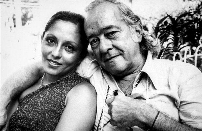 Vinicius de Moraes y María Creuza.