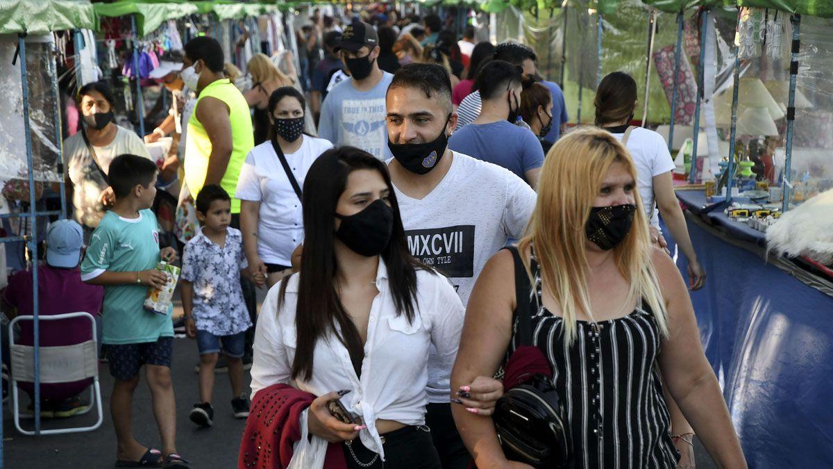 Argentina reportó este martes 13.783 nuevos casos de coronavirus.