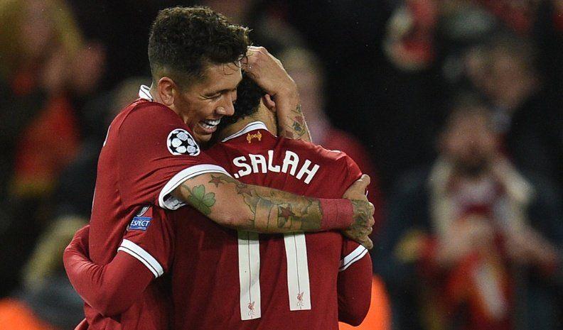 Liverpool sacó en su cancha una  importante ventaja sobre Roma