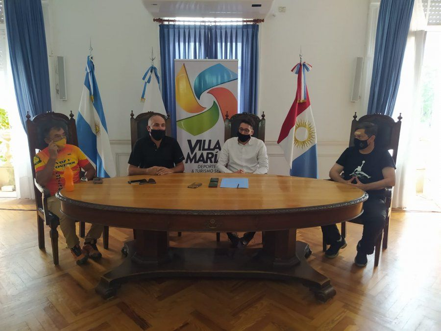 Villa María será sede de la primera competencia ciclística del país