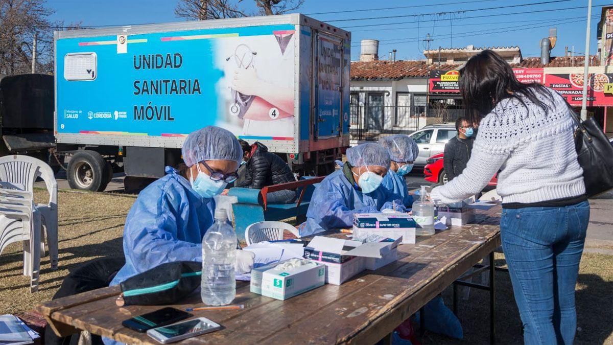 Río Cuarto: el municipio llego a los 110 mil testeos realizados en la ciudad
