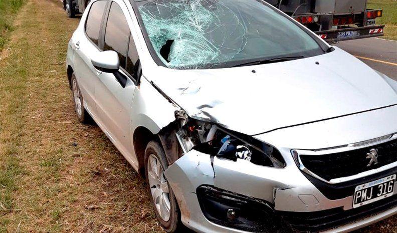 Pascanas: un joven de Laborde murió atropellado por un auto en la ruta 11