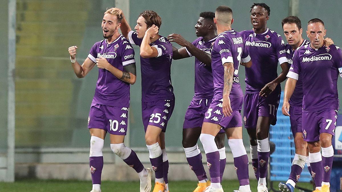 Fiorentina abrió la Serie A con una victoria