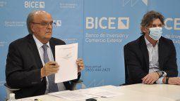 El presidente del BICE, José Ignacio de Mendiguren, explicó que el foco en empresas que exportan a Brasil busca consolidar la recuperación en marcha del intercambio bilateral con el principal socio comercial del país.