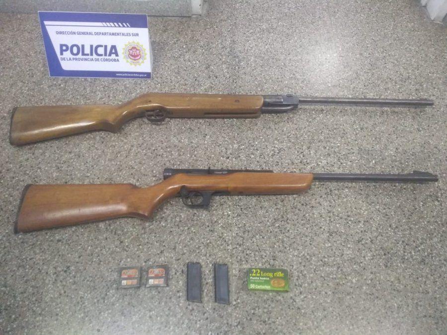 Detuvieron a un hombre de 39 años por amenazar a otro de 28 con un arma de fuego