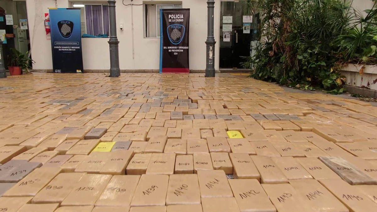 Secuestraron casi 2 toneladas de marihuana en General Rodríguez