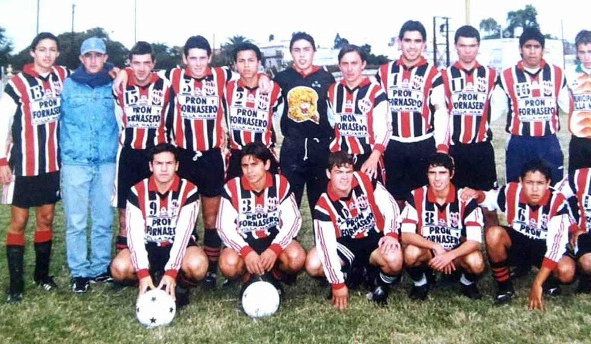 El elenco de Alem que ganó todos los títulos desde novena a cuarta división en la Liga.