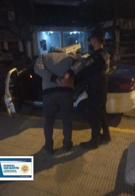 Violentos episodios en barrios  Centro y Lamadrid desencadenaron la detención de dos personas