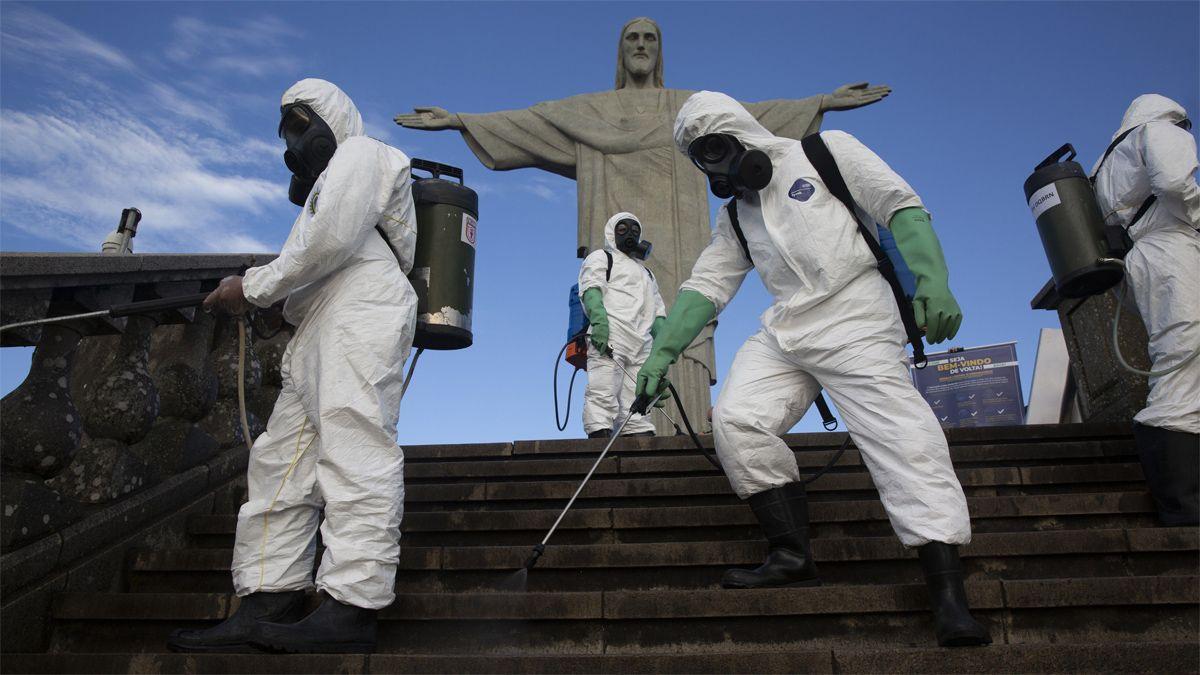 Las muertes por Covid-19 supera los nacimientos en algunas ciudades de Brasil.