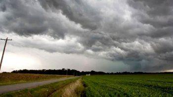 Alerta por tormentas para el norte del Departamento Río Cuarto