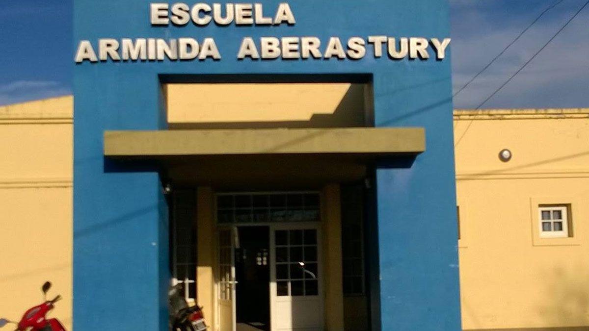 La escuela Arminda Aberastury de Canals fue objeto d eun robo este jueves
