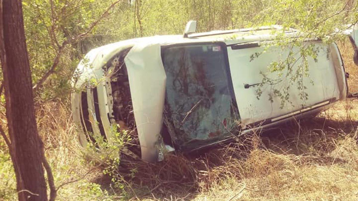 El accidente ocurrió en cercanías de San Basilio.