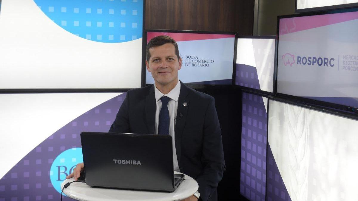 El vicepresidente 1º de la Bolsa de Comercio de Rosario