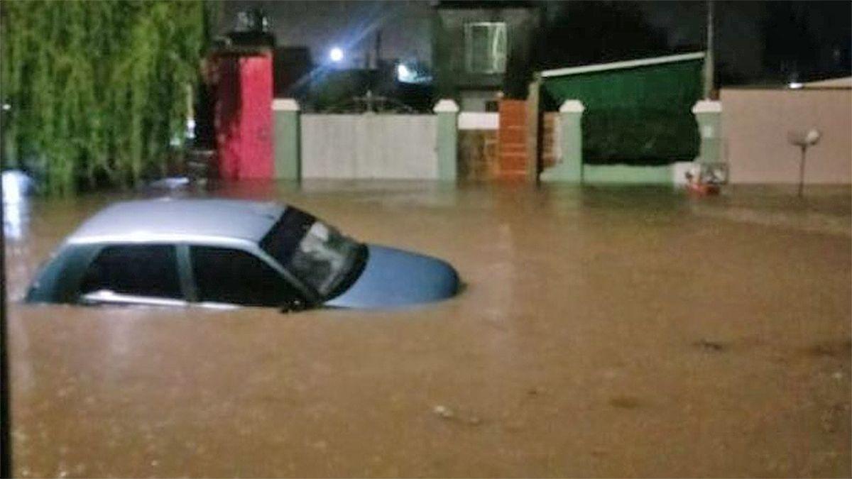 Al menos 60 evacuados en Marcos Juárez tras una lluvia de más de 200 mm