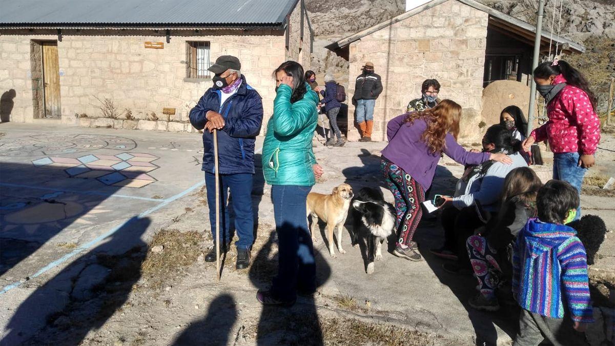 Los habitantes del Champaquí recibieron la segunda dosis de la Sputnik V.
