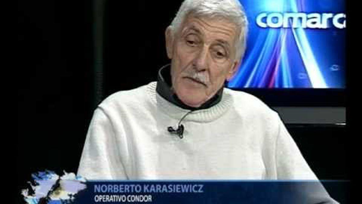 Karasiewicz tenía 20 años al momento del operativo. Recuerda con detalles todo lo ocurrido en Islas Malvinas.