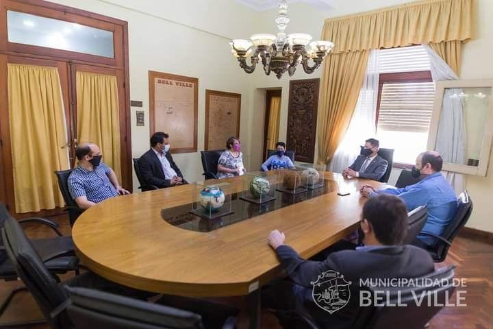 Construirán  en Bell Ville un monumento  a escala del ARASan Juan