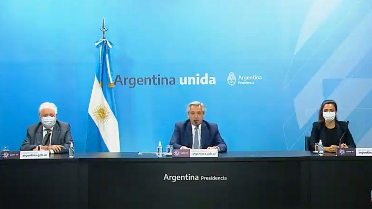 Alberto Fernández anunció que la etapa de distanciamiento sigue hasta el 20 de diciembre