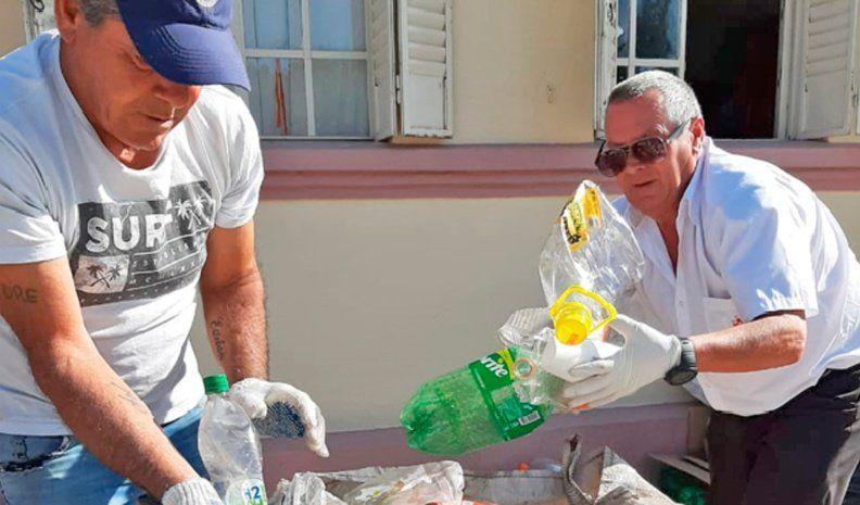 """Otro """"botellazo a los mugrientos""""  en Alcira: juntaron 28.916 envases"""