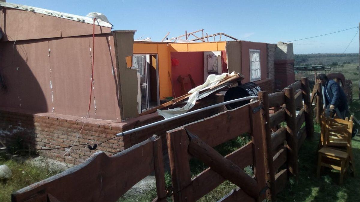 Villa del Dique y Yacanto fueron las localidades más afectadas.